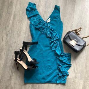 Arden B blue bodycon dress